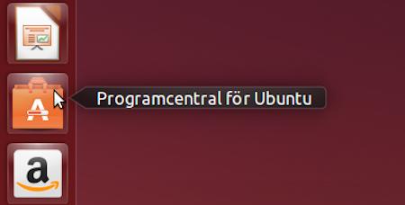 Programcentral för Ubuntu